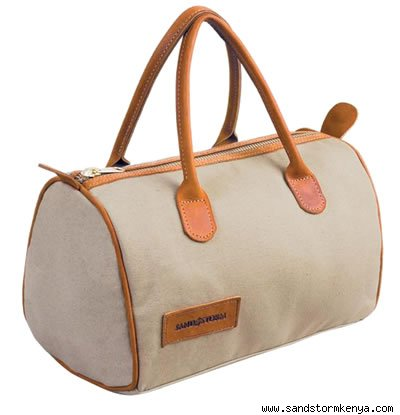 Canvas and Cowhide Basics Bag