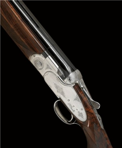 12-bore Beretta shotgun.