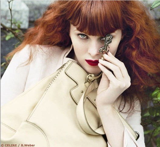 Karen Elson for Celine.