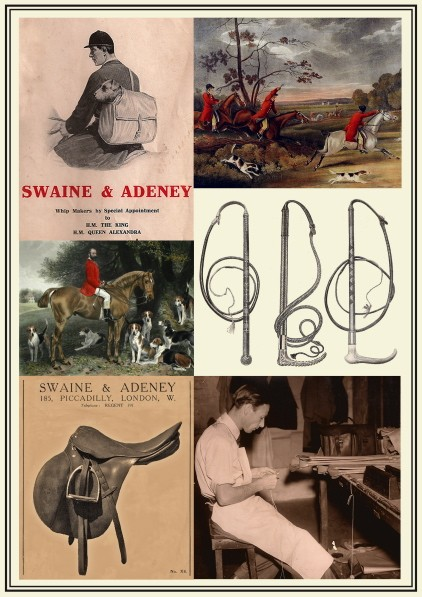 Archival Swaine Adeney advertising.