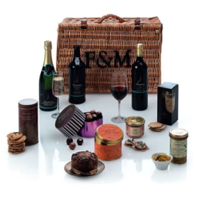 Fortnum &amp; Mason Regent hamper.