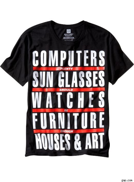 Men's Barbara Kruger Whitney Biennial T