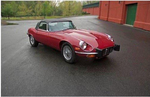 1974 Jaguar Series III V-12 XK-E Roadster