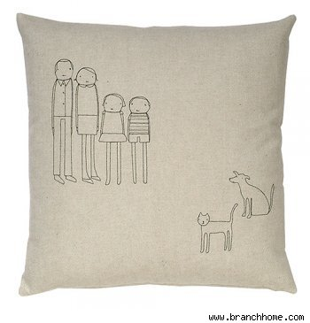 Family Pillow No. 1