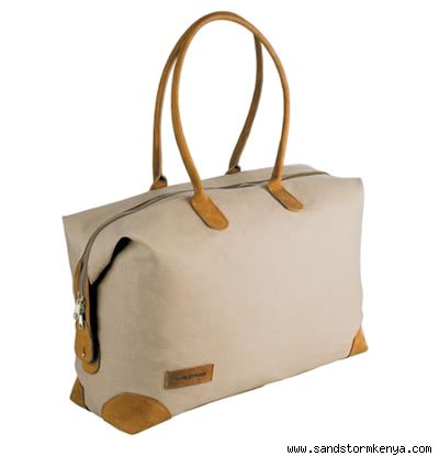 Canvas and Cowhide Laikipia Bag