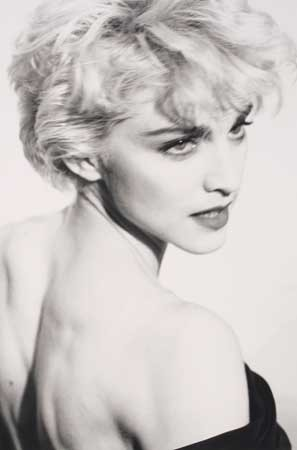 Madonna by Herb Ritts, 1986.