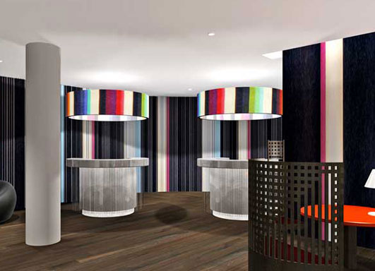 Hotel Missoni Edinburgh rendering #2.