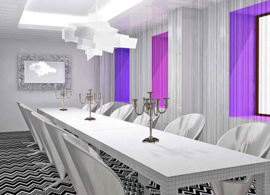 Hotel Missoni Edinburgh rendering #1.