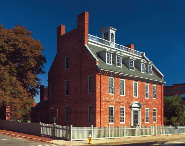 Macpheadris-Warner House, Portsmouth, New Hampshire.