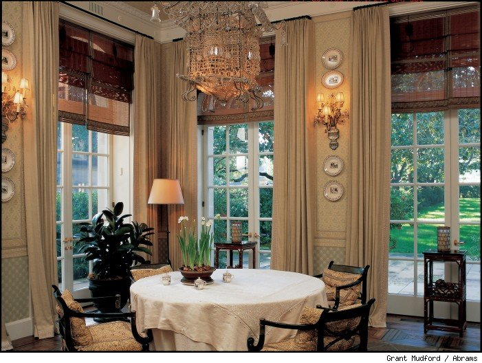 Breakfast room, Crespi Mansion, Dallas, 1939 (Maurice Fatio).
