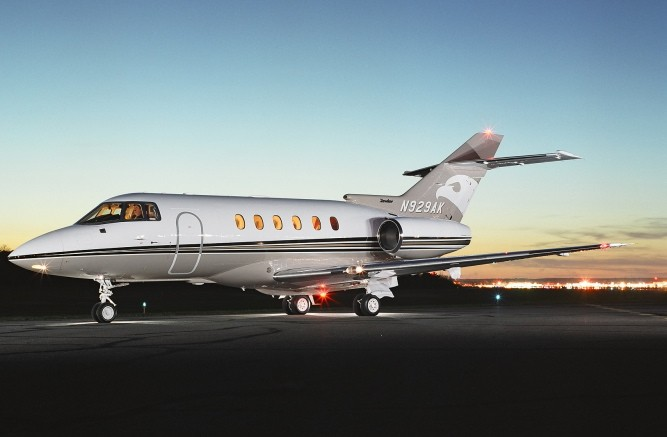 Hawker 800XP.