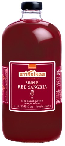 Red sangria mix.