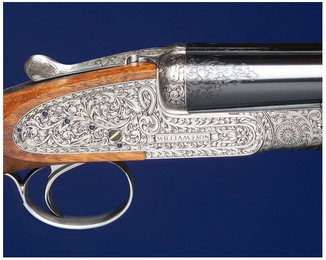 20 bore William &amp; Son Sidelock Ejector shotgun.