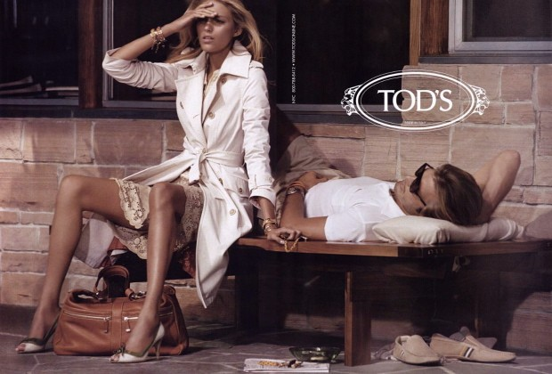 Tod's ad from last spring.