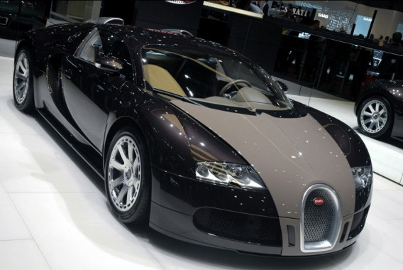 The Bugatti Veyron Hermes edition.
