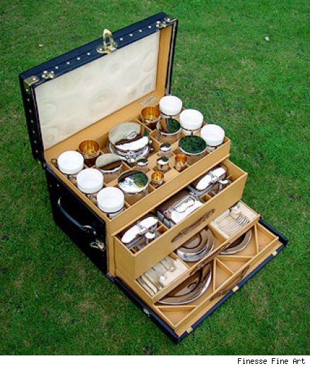 Vuitton Picnic Trunk.