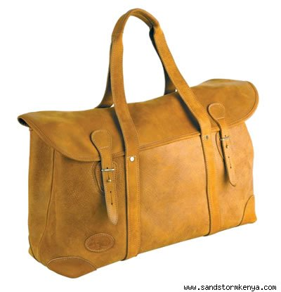 Camel and Cowhide Weekender