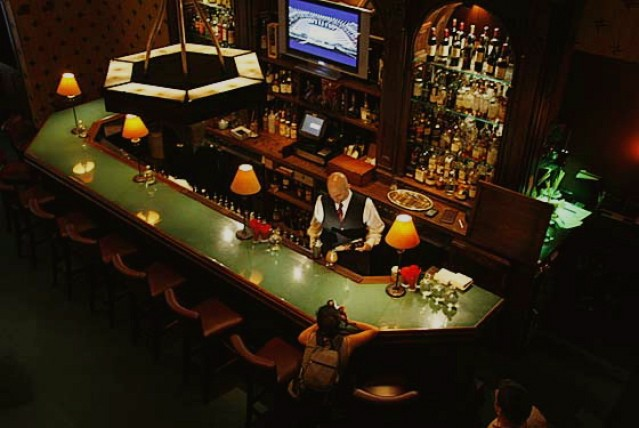 View of the CC bar.