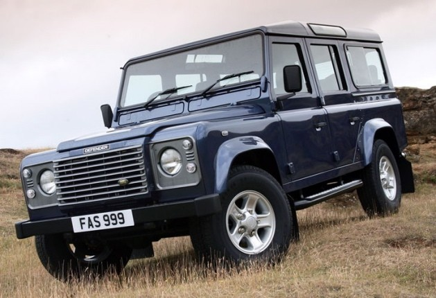 A Land Rover Defender.