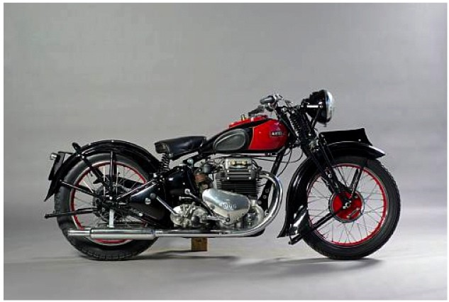 1937 Ariel 995cc Square Four Model 4G