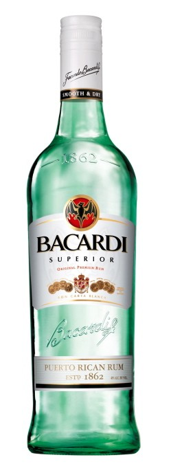 Bacardi Superior Rum.