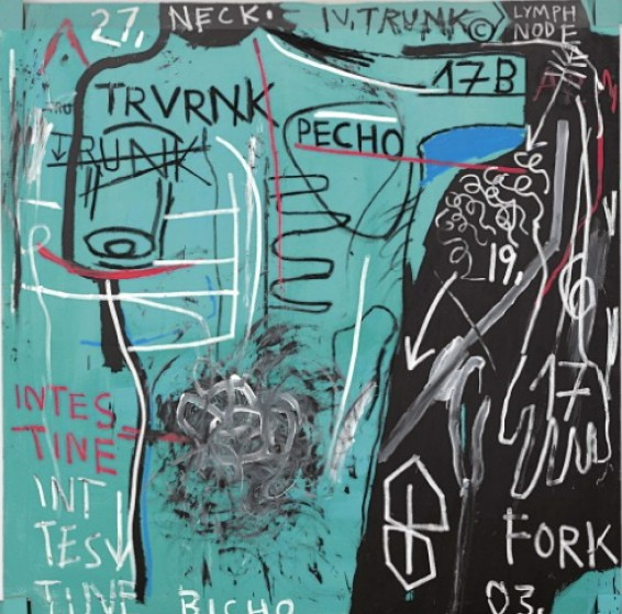 Basquiat's Trunk