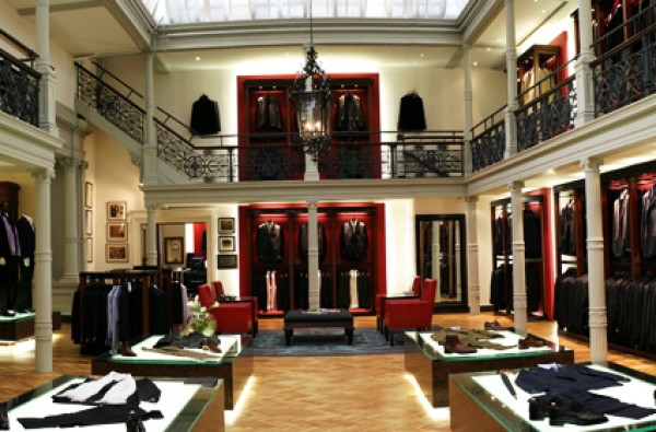 Gieves &amp; Hawkes interior