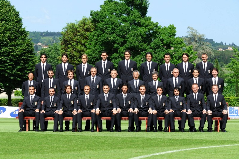 Italian National Football Team.
