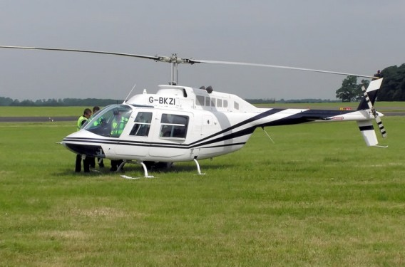 Bell Jet Ranger.