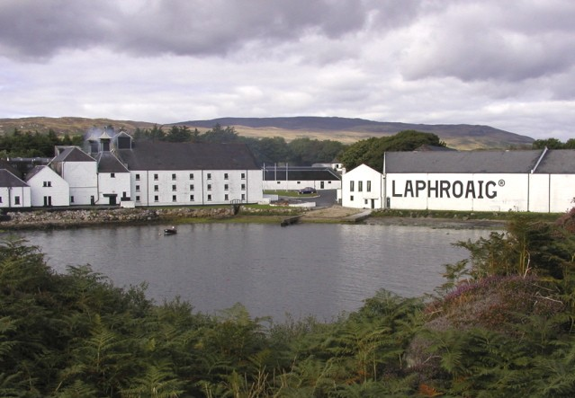 The distillery on Islay.