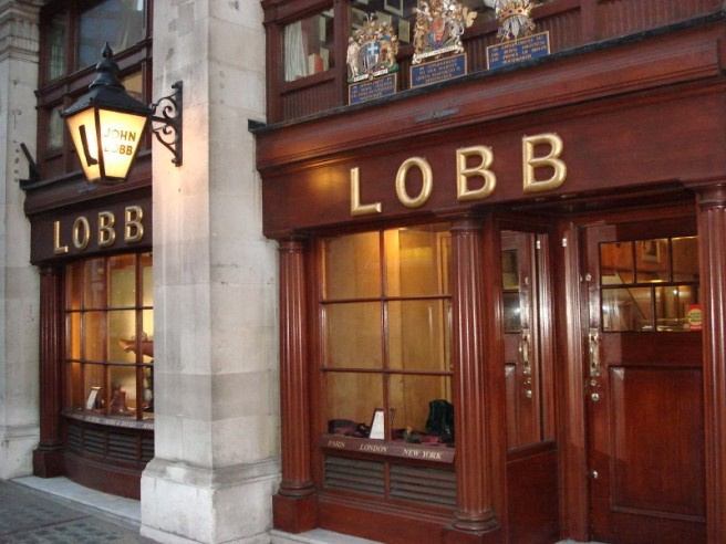 The Lobb shop in London.
