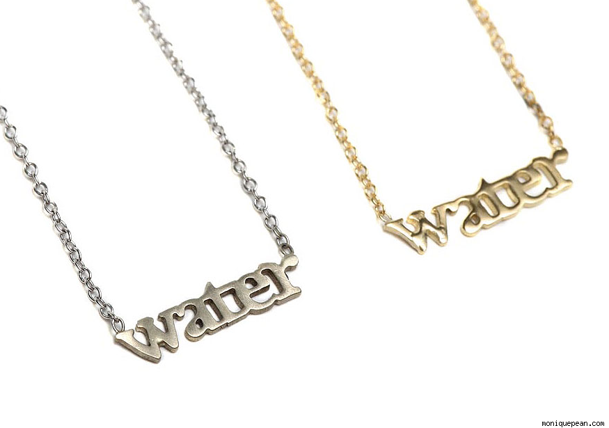 C:W Water Necklace