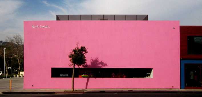Paul Smith's Los Angeles store.