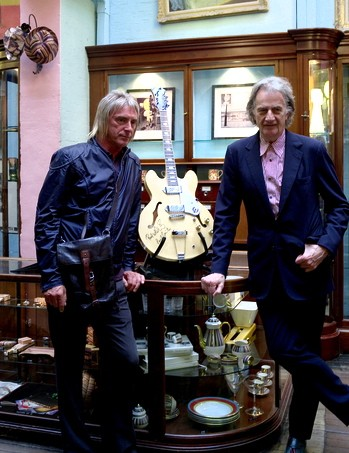 Paul Smith and Paul Weller (L).