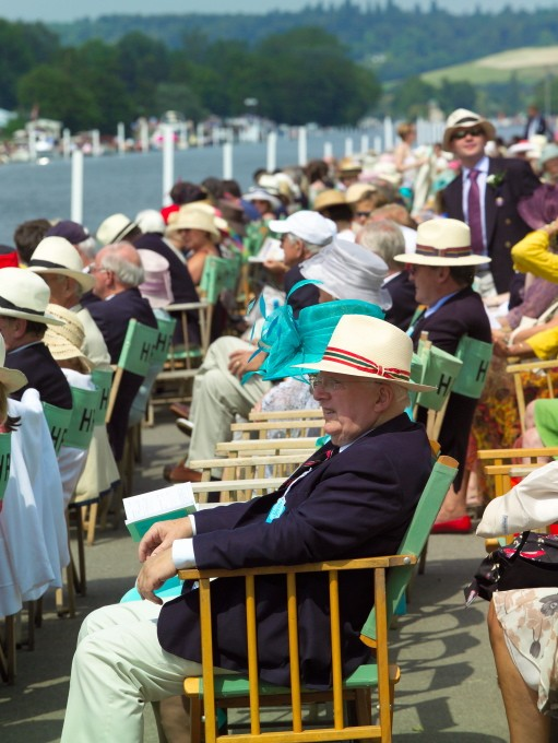 Spectators in the Stewards' Enclosure