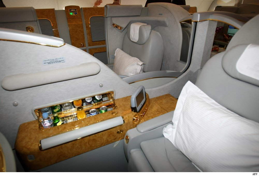 A380 First Class seat