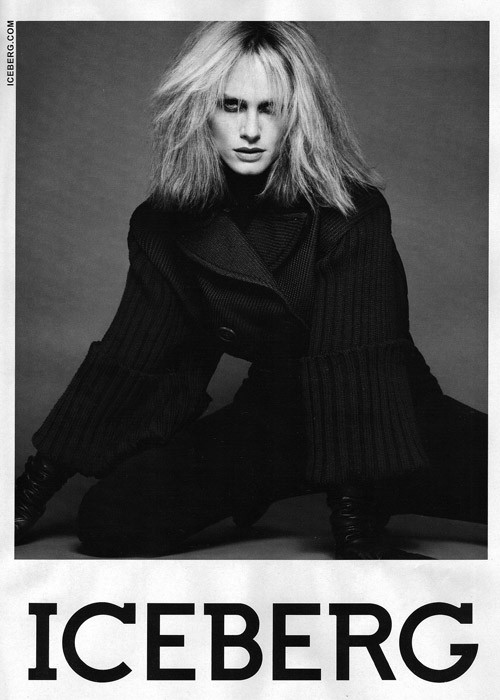 Amber Valletta for Iceberg