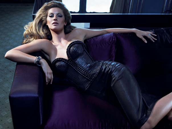 Gisele in last season's ad, #2.
