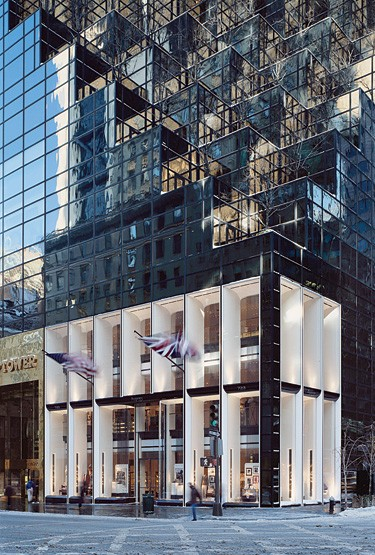 Asprey's New York store.