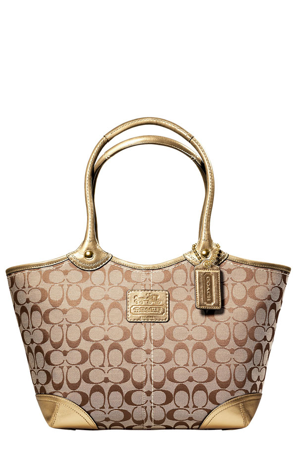 Luxist Coach Bleeker Tote :  travel designer bag carry bag