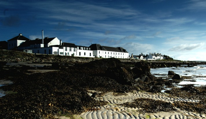 The distillery on Islay