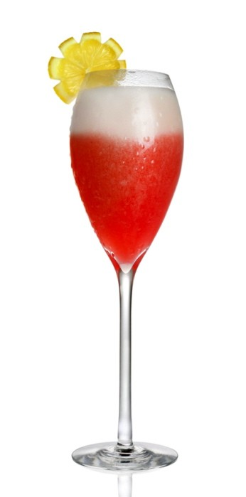 Campari Sgroppino - created by mixologist Tony Abou-Ganim