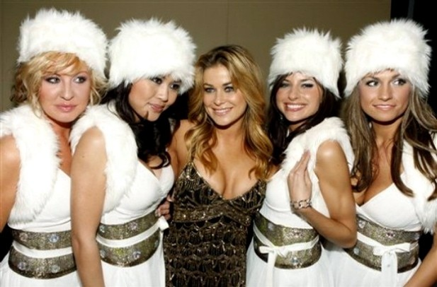 Carmen Electra and Snow Queens