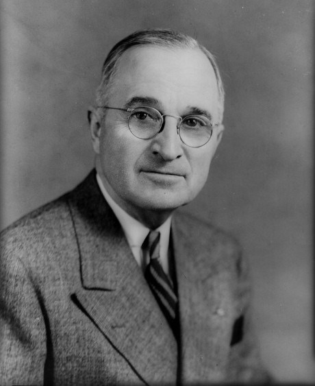 Harry Truman in tropical weight Haspel