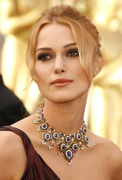 Keira in an Asprey necklace.