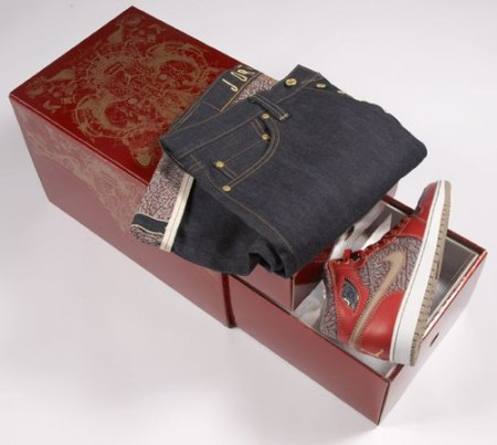 Limited Edition Jordan Levis Package