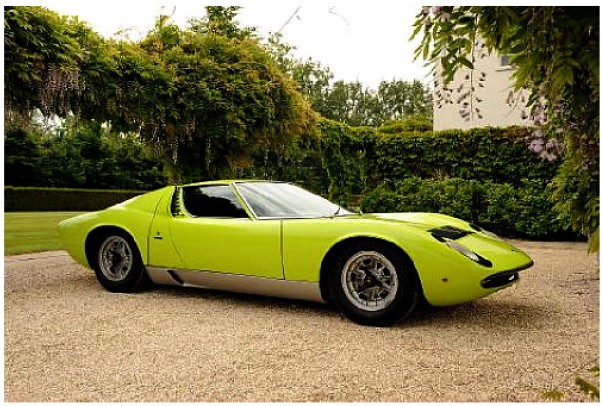 1970 Lamborghini Miura P400S Series II Berlinetta