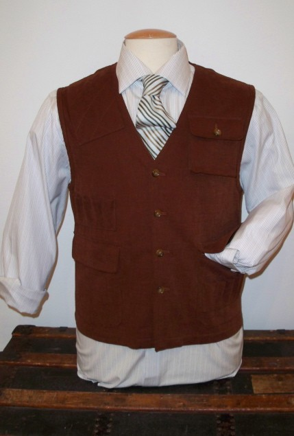 Shooting vest from the Outdoors collection