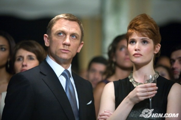 Craig and Gemma Arterton (Agent Fields).