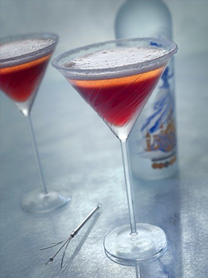 Snow Queen cherry cocktail